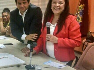 ÉTILA ELANE RAMOS É A NOVA PRESENTE DO CES/RJ Cerimônia de posse reuniu Conselheiros Estaduais, no Centro do Rio.