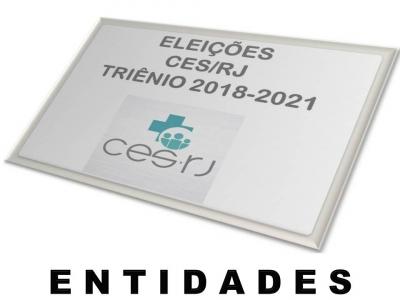 INTERPOSIÇÃO DE RECURSOS PARA ENTIDADES CANDIDATAS ÀS ELEIÇÕES DO CES (LISTA DE ENTIDADES APTAS E NÃO APTAS)