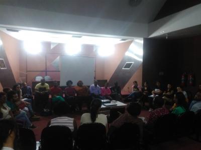Convite Cine Saúde - Saúde da População Negra