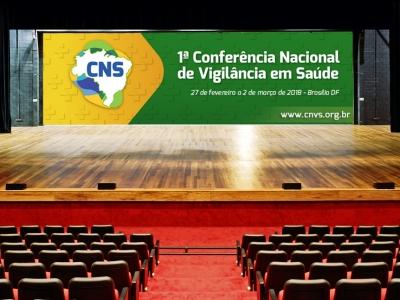 1ª CONFERÊNCIA NACIONAL DE VIGILÂNCIA EM SAÚDE - 27 de fevereiro a 2 de março de 2018/Brasília DF