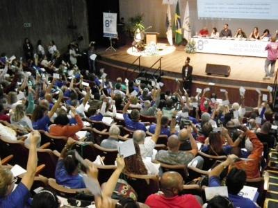 8ª CONFERÊNCIA ESTADUAL DE SAÚDE DO RIO: GRUPOS DE TRABALHO E PLENÁRIA FINAL