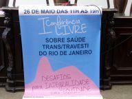 I Conferência Livre Sobre Saúde Trans/Travestis do rio de Janeiro
