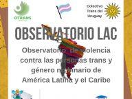 FUNDADO OBSERVATÓRIO DA VIOLÊNCIA CONTRA PESSOAS TRANS NA AMERICA LATINA E CARIBE